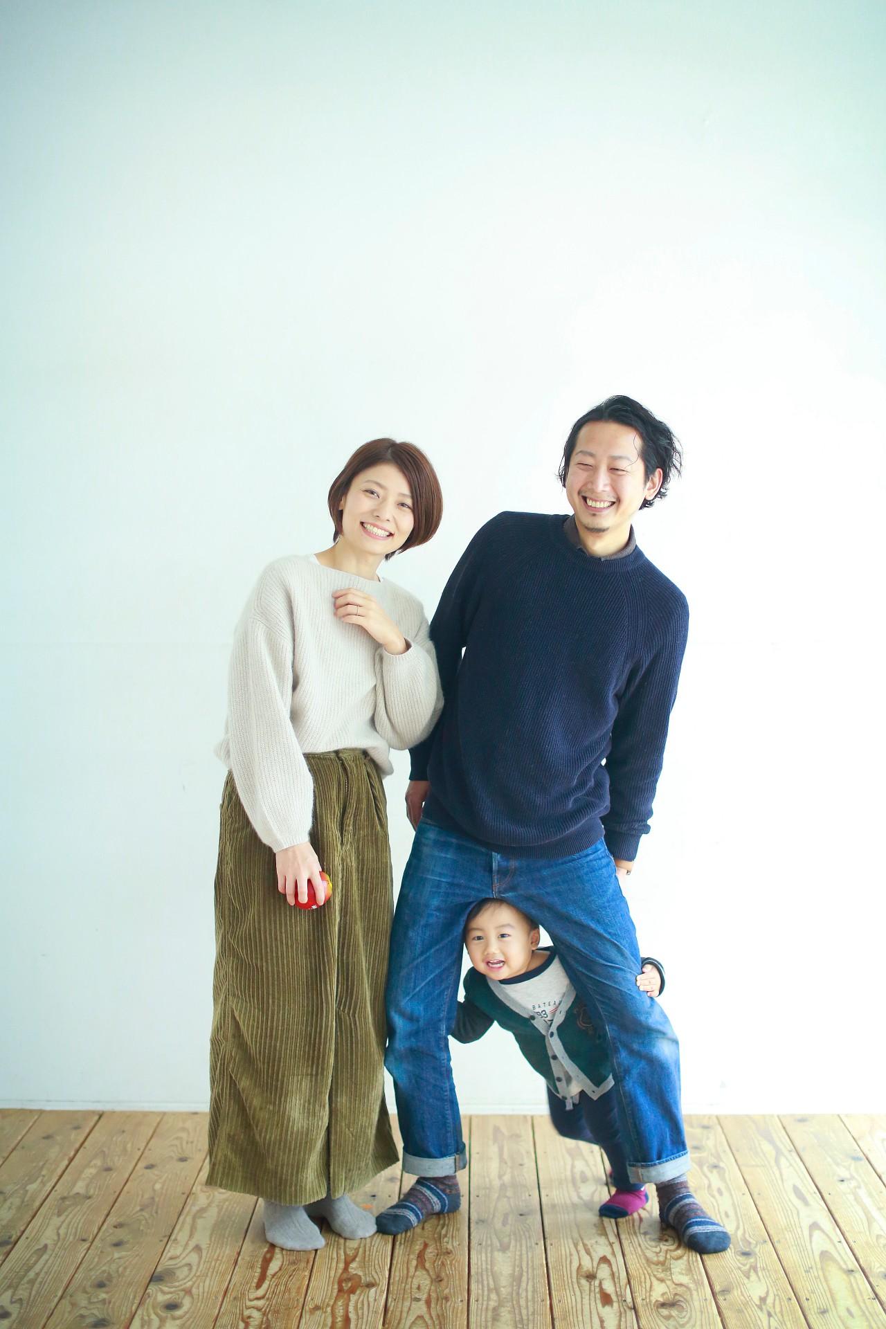 フォトナギの家族写真撮影